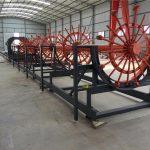 स्टील ब्लॉक पिंजरे वेल्डिंग मशीन, स्टील रीबर पिंजरे बनविण्याचे यंत्र