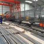 चीन साध्या ऑपरेशनमध्ये टिकाऊ आणि बळकट गुणवत्ता आश्वासन स्टील रीबर पिंजरे वेल्डिंग मशीन बनविले आणि पिंजरा बनविणे